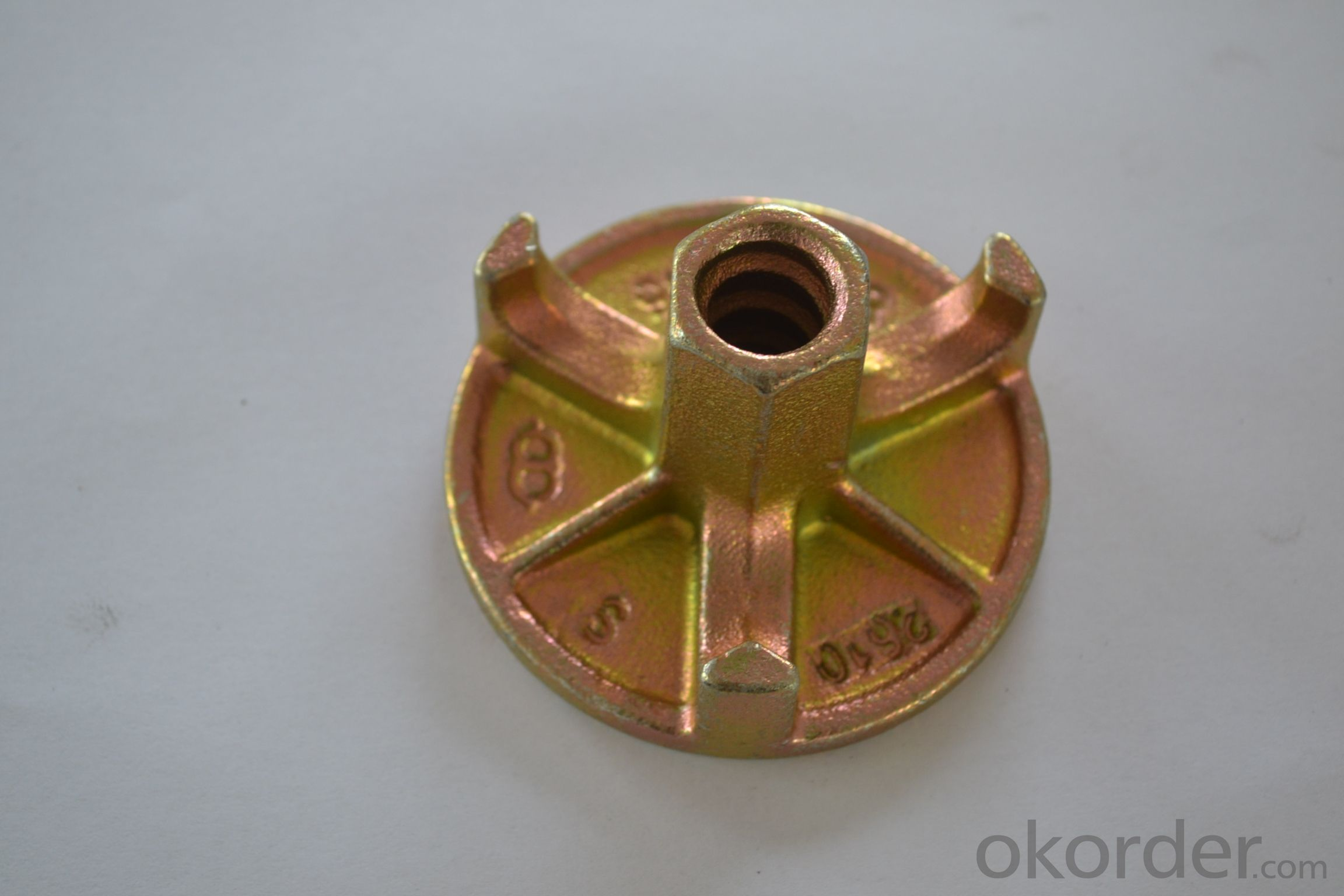 Formwork Dia.90mm 0.45kg Anchor Nut 2 Wing Nut