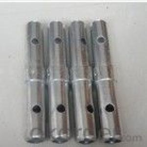 cnc parts fabrication service aluminum hollow pion scafold coupler pin