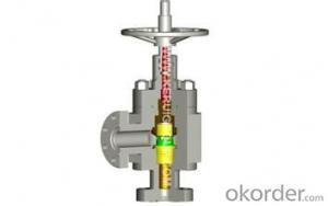 API 6A Oilfield Choke-plate Type Valve/Orifice Plate Choke Valve