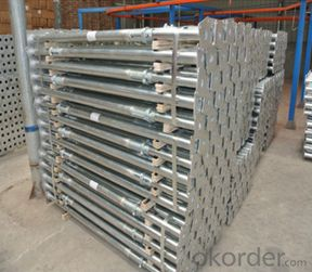 Adjustable Galvanized Steel Prop scaffolding