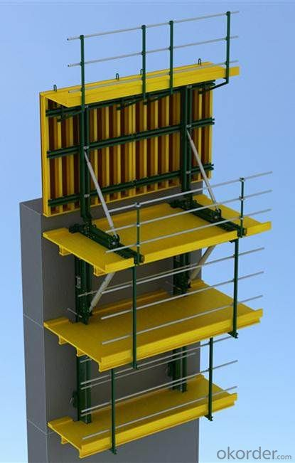 Hydraulic Auto-Climbing Formwork for Building and Other Climbing Projects