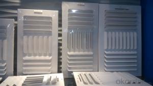 Air vent grill  Ceiling/Sidewall Registers/ diffuser 8x8 steel 4-way register