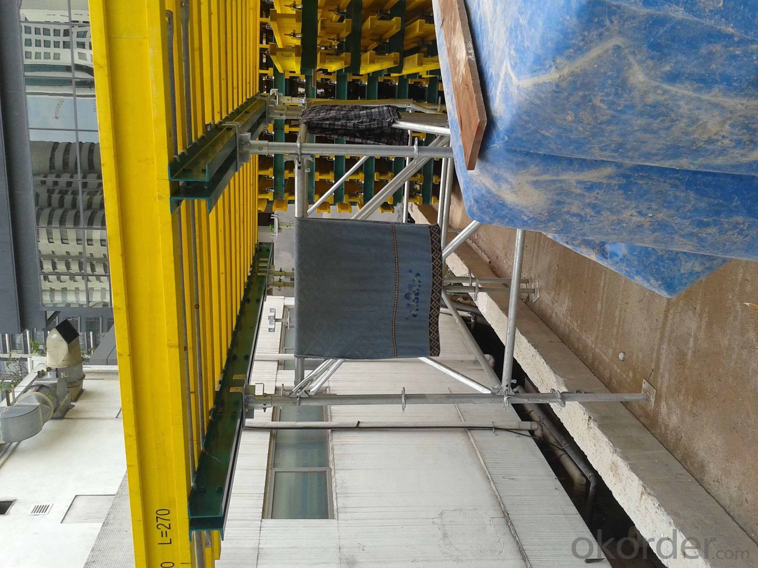 Ring-lock scaffolding
