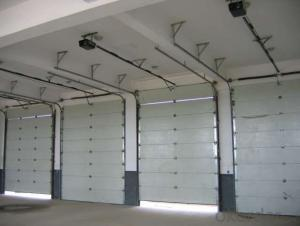 Automatic Sectional Garage Door for  Overhead Use
