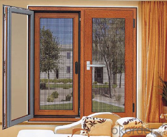 Aluminum Window and Door with Triple Pane Manufacturer