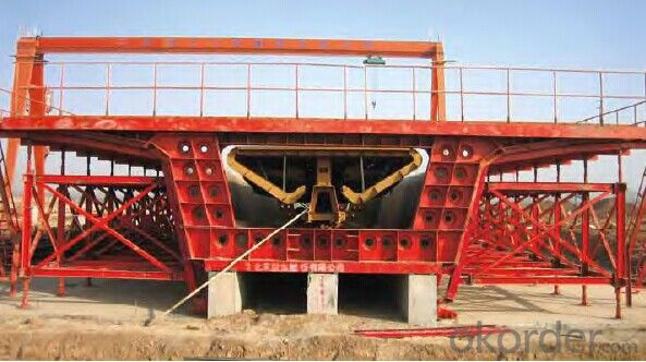 Highly Efficient &Easy Installation Wholely Assembled Box Girder Formwork