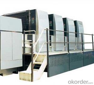 BR800 Full sized Multi-color Sheet fed Press Machine