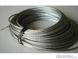 Galvanized Steel Wire Rope Steel Wire Ropes