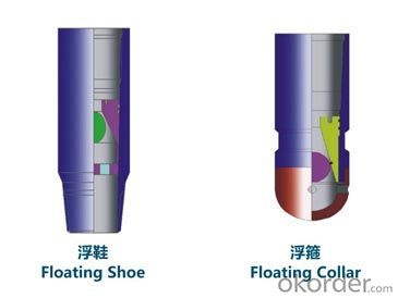 API Float Collar and Float Shoe Using in Oilfield Cement
