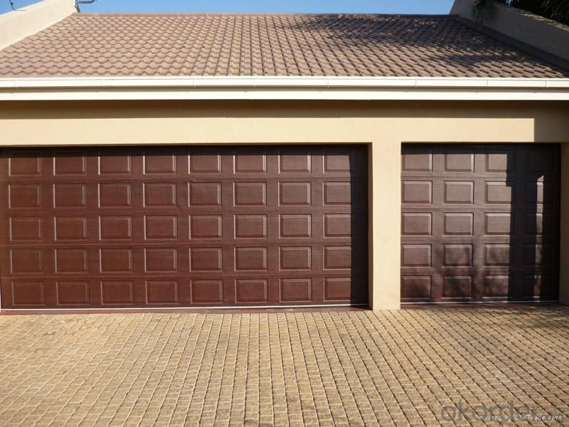 Automatic Sectional Garage Door  for New Design