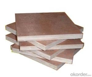 Construction Plywood in 1250*2500mm with Good quality