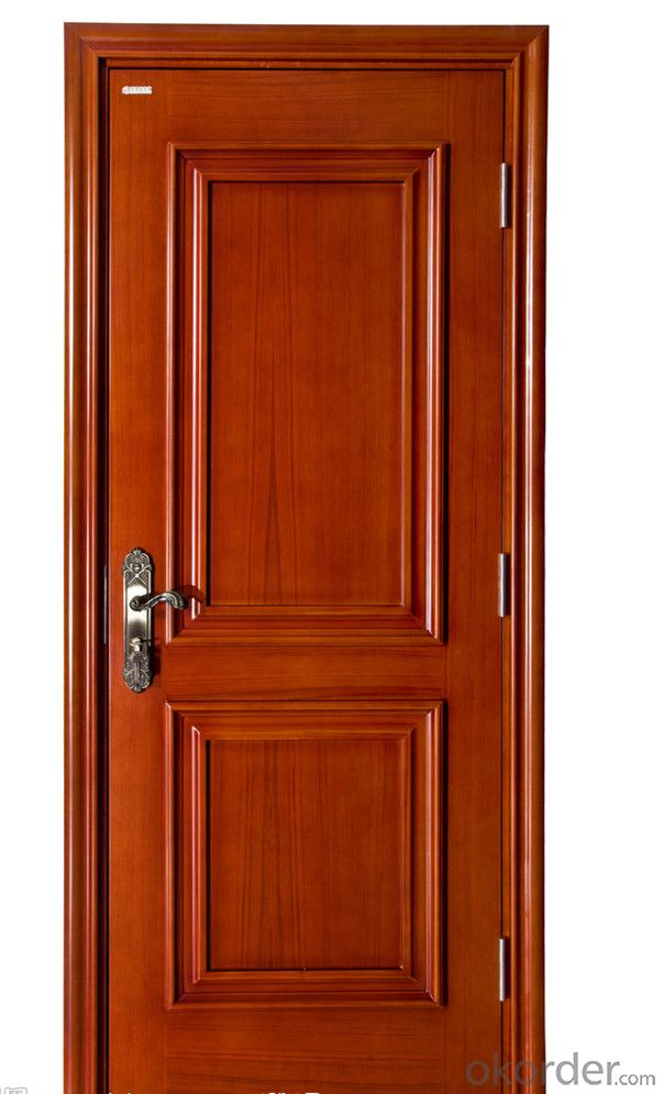 GOOD QUALITY WOODEN DOOR PASSED BS CERTIFICATES