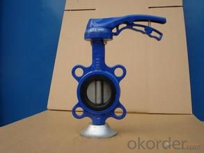 butterfly valve Wafer type lined butterfly valveStandard Structure: Butterfly Pressure: Low Pressure