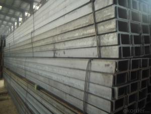 JIS Standard Hot Rolled Steel U Channels for Constrction