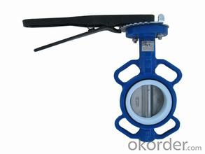butterfly valve NBR StandardSize: DN40-DN1200 Place of Origin: China (Mainland)