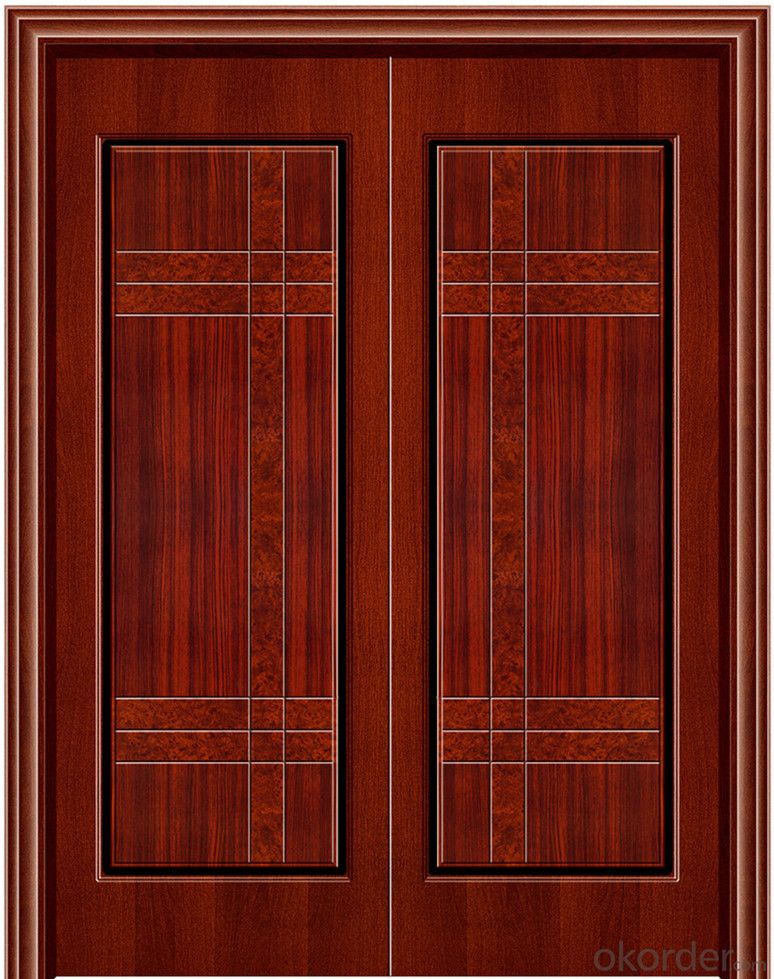 WOODEN FIREPROOF  DOOR with BS Certificate and CE certificate