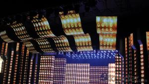 Ph37.5mm Mesh Screen LED Curtain On Sale