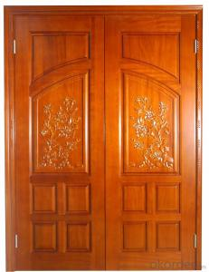 Green Environmental WOODEN DOOR with BIG SIZE