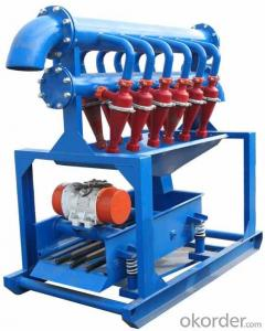 Oilfield Solid Control Equipment Desilter with API standard