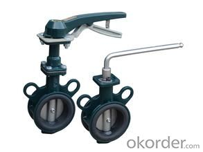butterfly valve Carbon SteelStandardSize: DN40-DN1200 Place of Origin: China (Mainland)