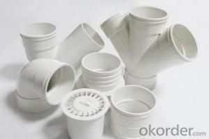 pvc pipe 0.8MPa Material PVC Specification: 16-630mm Length: 5.8/11.8M Standard: GB