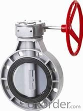 butterfly valve Ductile Iron with Nylon CoatingSize: DN40-DN1200 Place of Origin: China (Mainland)