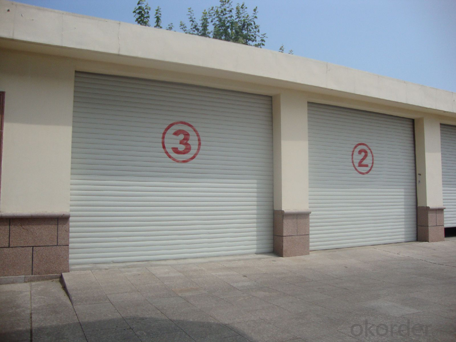 Automatic Rolling  Sectional Garage Door  for New Fashion