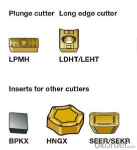 tungsten carbide inserts for cutting tool
