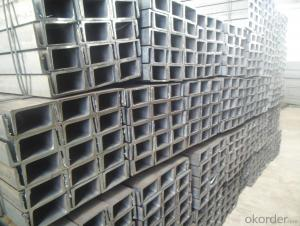 GB Standard Hot Rolled Steel U Channels for Constrction