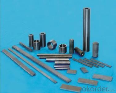 Tungsten carbide strip for machine tools