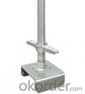 adjustable screw jack base u head for scaffolding