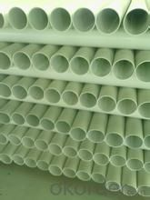 pvc pipe  1.0MPaMaterial PVC Specification: 16-630mm Length: 5.8/11.8M Standard: GB
