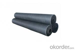Warp Knitted Fiberglass Geogrid-High quality
