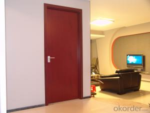 Finished Surface Environmental Interior Wooden Door