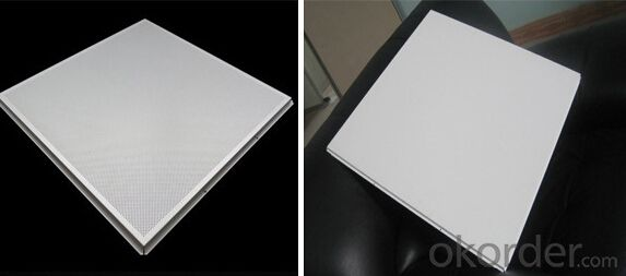 Perforated Lay In Aluminum Ceiling595*595 *0.6MM