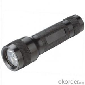 HOT SELL 3W CREE LED flashing torch Flashlight