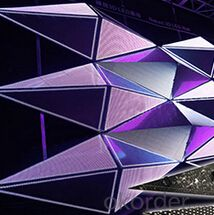 3D Effect LED Wall Panels Electronic LED Display