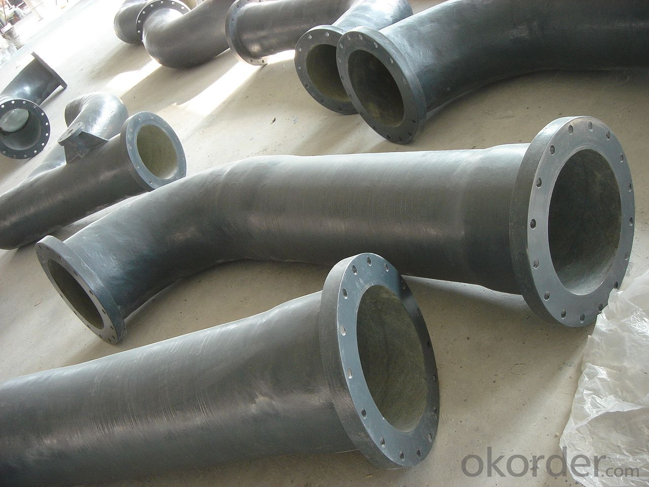 Fiberglass reinforced water pipe fittings