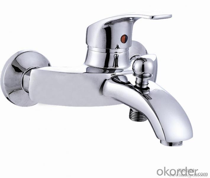 Chrome Square Shower Head Bathroom Rainfall Shower Faucet Set