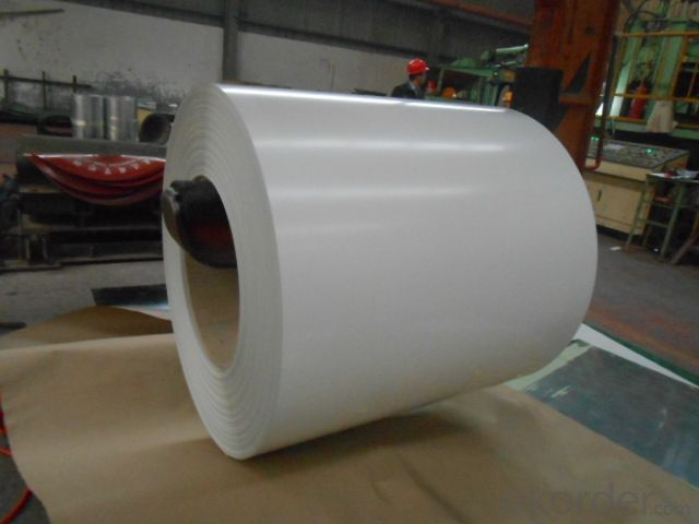 Color pre- painted galvanized steel in coil