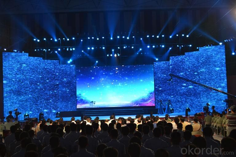 Flexible LED Screen Programmable LED Curtain Display