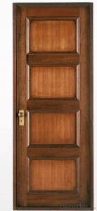 WOODEN FIREPROOF  DOOR WITH DIFFERENT SIZE
