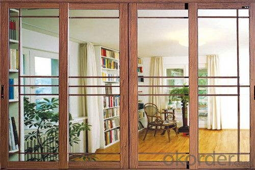 Aluminium Partition Sliding Door with popular design