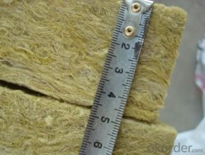 CE Certificated Rock Wool Blanket with Wire Mesh Real Stone Wool Board