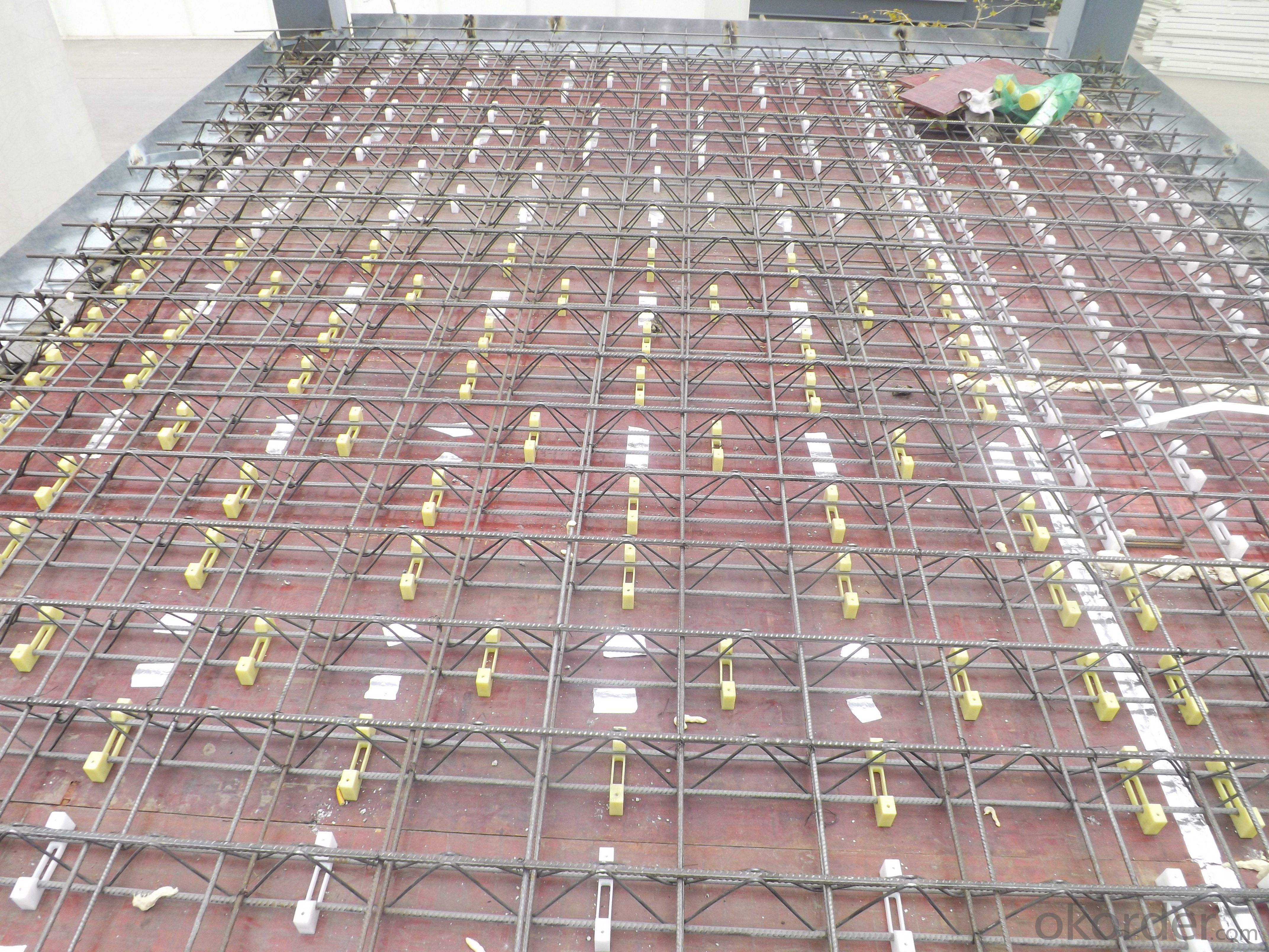 Buy Rebar Truss With Galvanized Steel Plate For Building