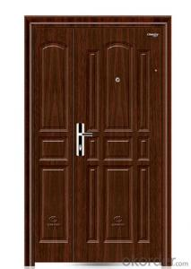 Hot saled single leaf entry steel security door
