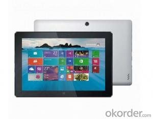 Windows 8 Tablet PC with Intel quad core 2.40GHz, 8000mAh battery with 6 hours