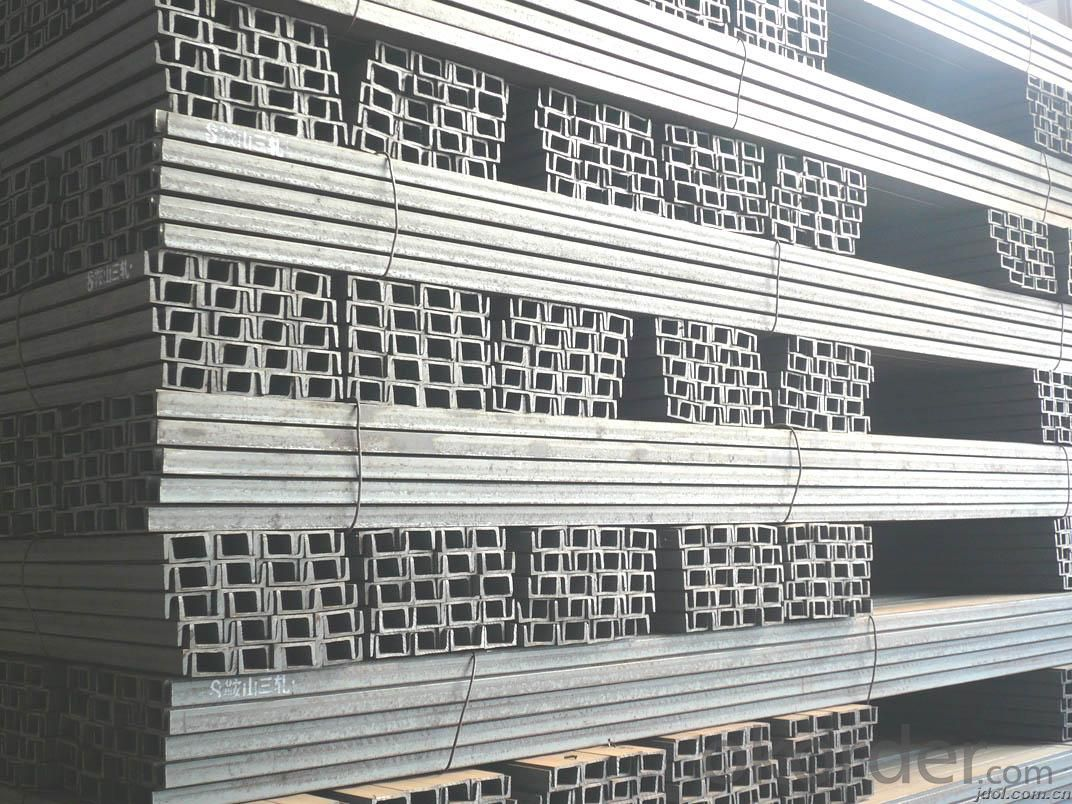 Steel U Channel With High Tensile Strength