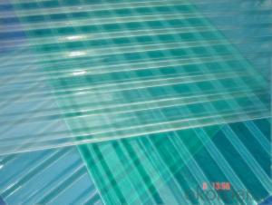 High strength Transparent corrugated FRP/GRP panel