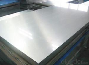 FACTORY PRICE STAINLESS STEEL PLATE/SHEET PVC ON SIDE